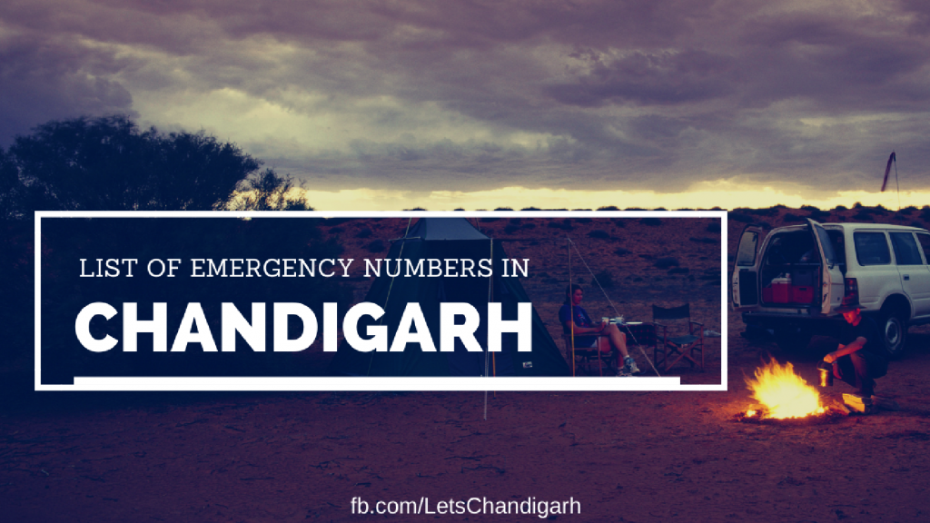 List-of-emergency-numbers-Chandigarh