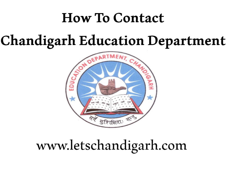 Contact-Chandigarh-education-department