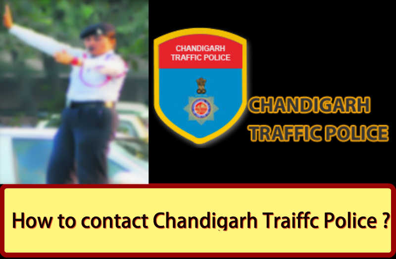 contact details of Chandigarh Traffic Police Head office, Phone Number, Email ID